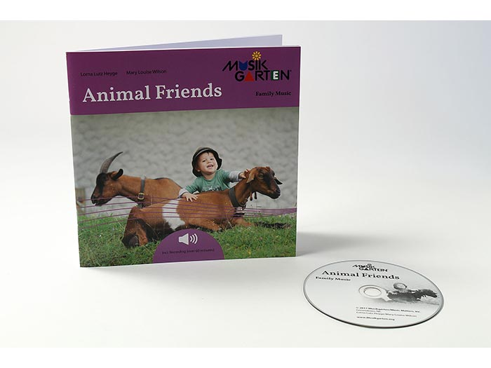 Family Music for Toddlers - Animal Friends Packet