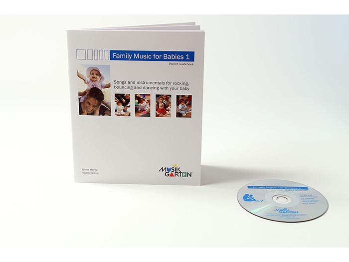 Family Music for Babies - Parent Book 1 and CD 1