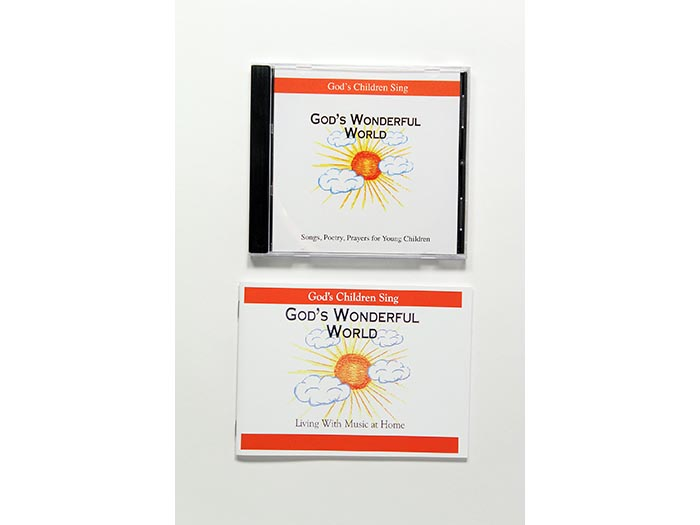 God's Children Sing - God's Wonderful World set of 10 parent books and CDs