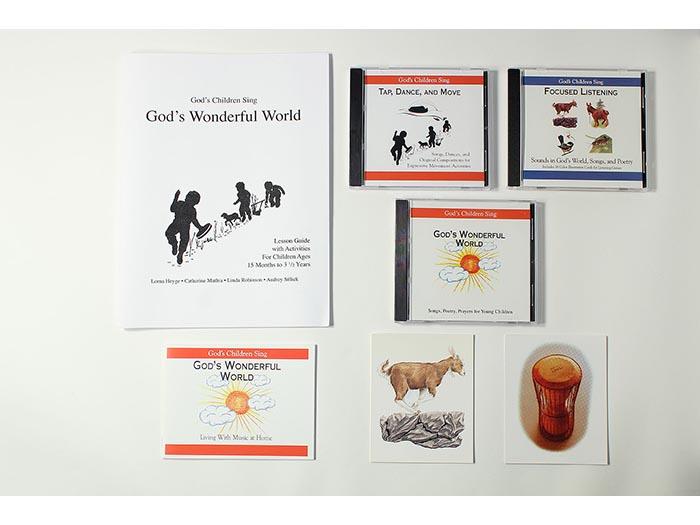 God's Children Sing - God's Wonderful World Teacher Resources (Full Set)