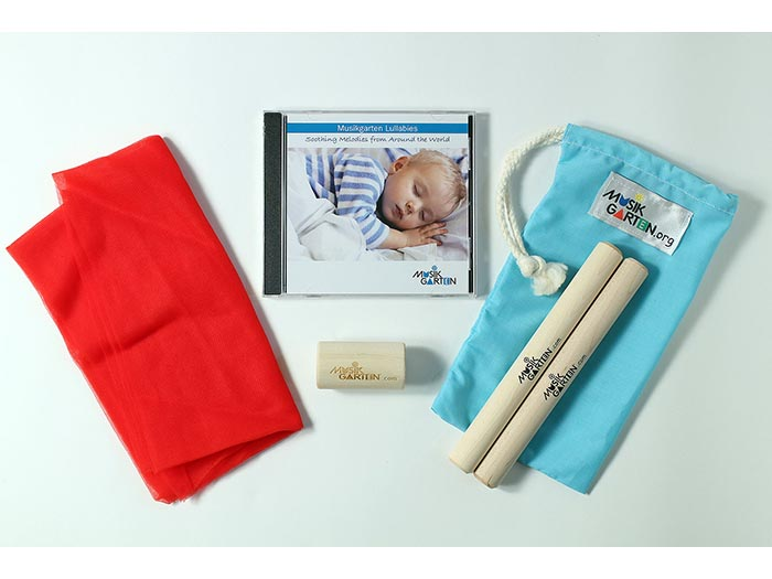 Musikgarten Lullaby CD with Instrument Kit