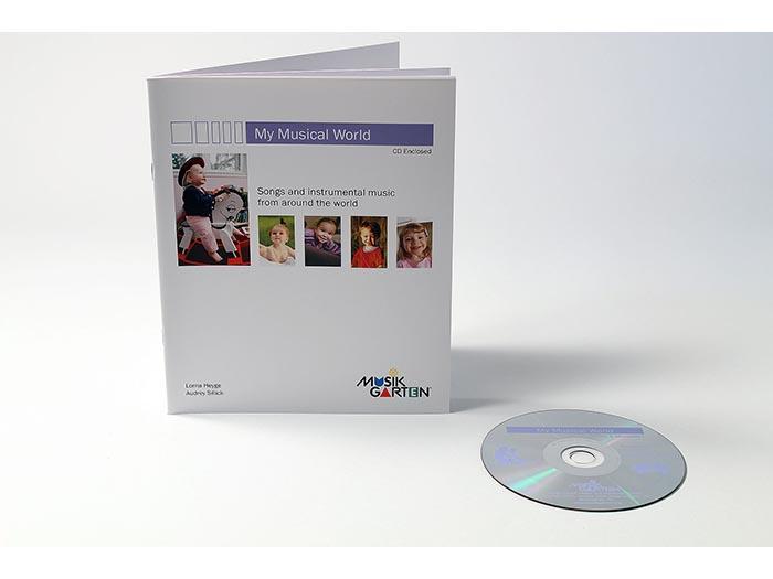 Musikgarten My Musical World Parent Book and recording