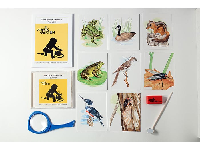 Summer Nature Trail Family Packet