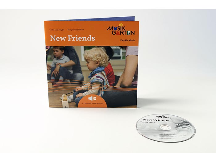 Family Music for Toddlers - New Friends Family Packet