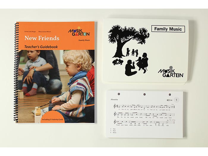 Family Music for Toddlers - New Friends Teacher Guide