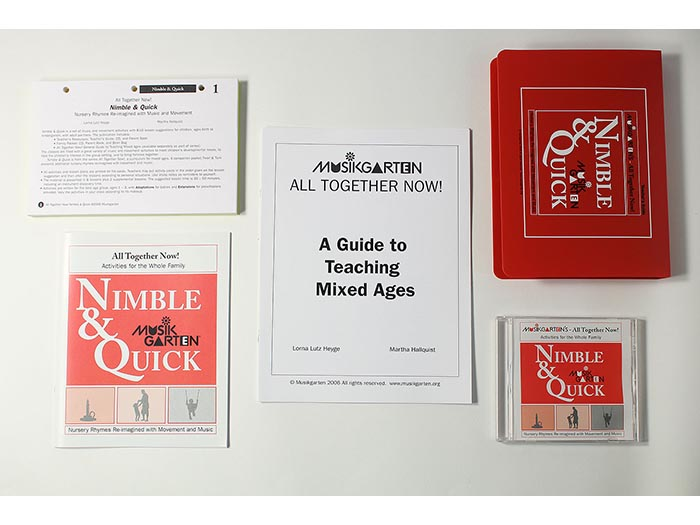 All Together Now - Nimble & Quick Teacher Resources plus All Together Now Manual
