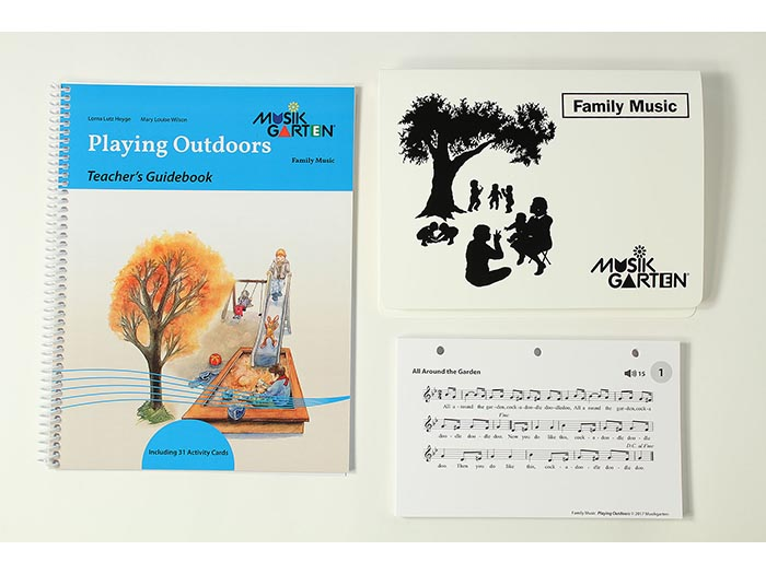 Family Music for Toddlers - Playing Outdoors Teacher Guide