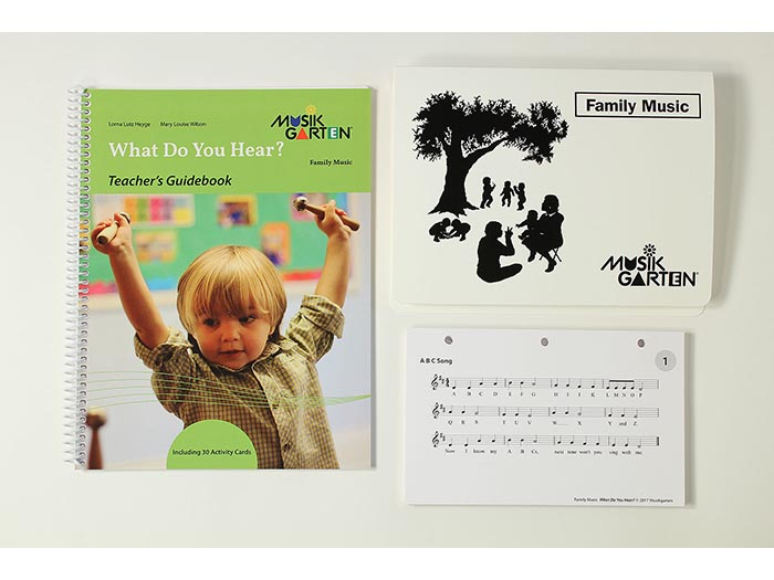 Family Music for Toddlers - What Do You Hear Teacher Guide