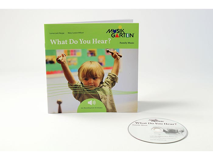 Family Music for Toddlers -What Do You Hear Family Packet