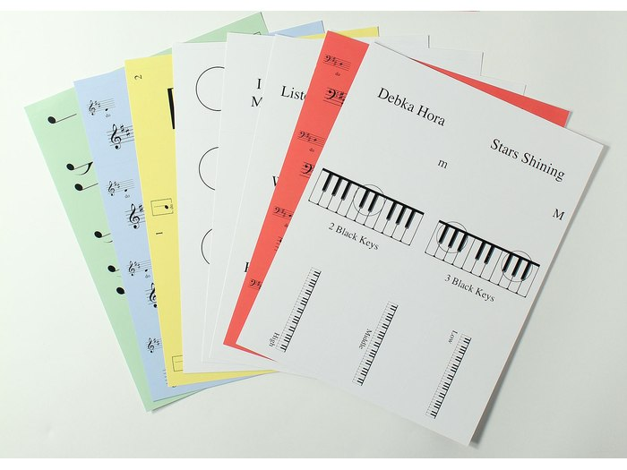 Music Makers: At the Keyboard Notation Game set 1