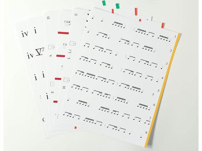 Music Makers: At the Keyboard Notation Game set 5