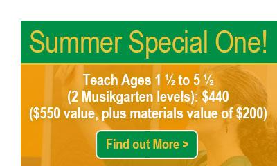 Musikgarten Summer Webinar Special 1