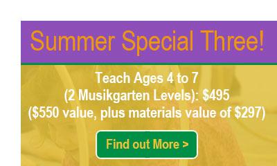 Musikgarten Summer Webinar Special 3